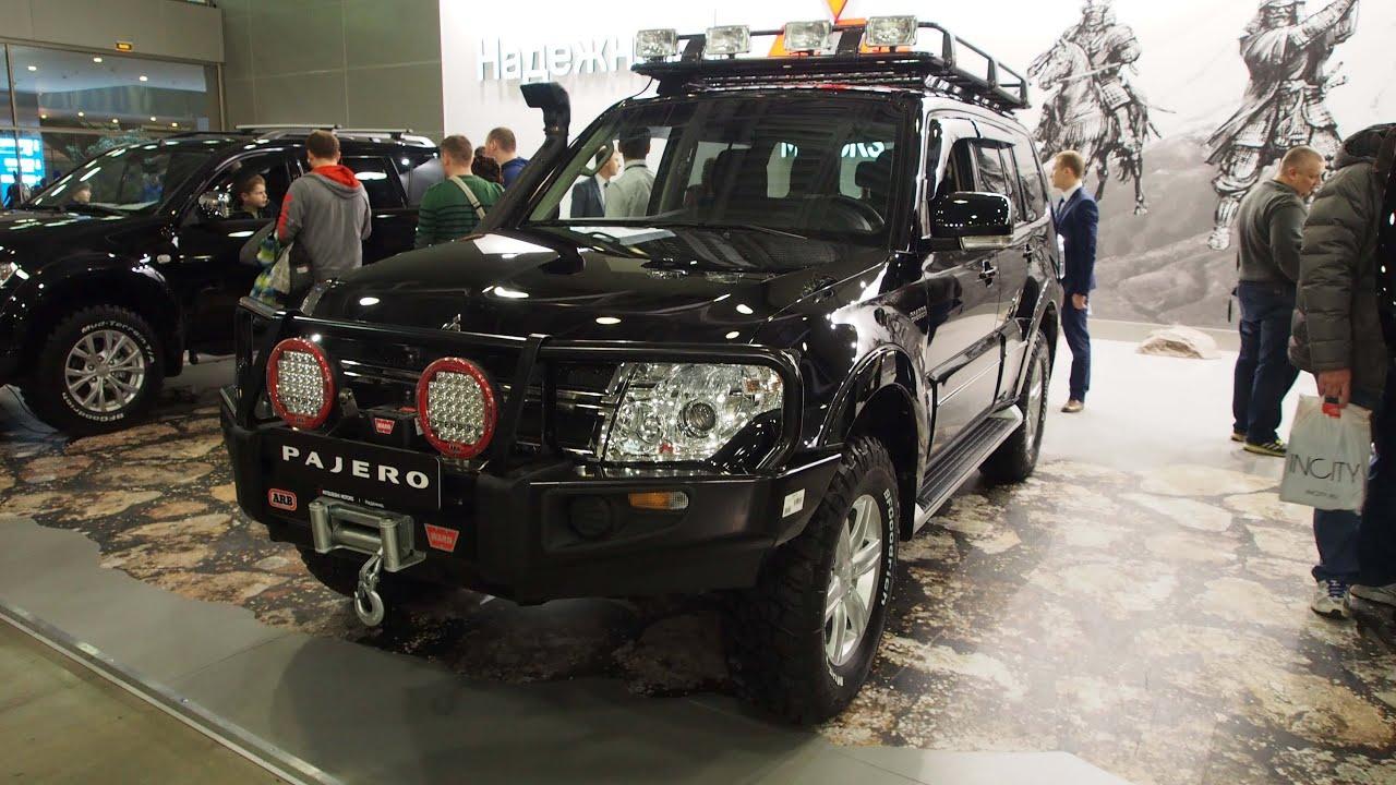 Mitsubishi Pajero Offroad Tuning
