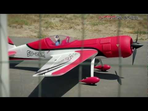 Dynam SU-26M Brushless Sport RC Plane Red Version