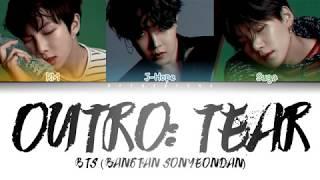 BTS (방탄소년단) - OUTRO: TEAR (Color Coded Lyrics/Han/Rom/Eng)