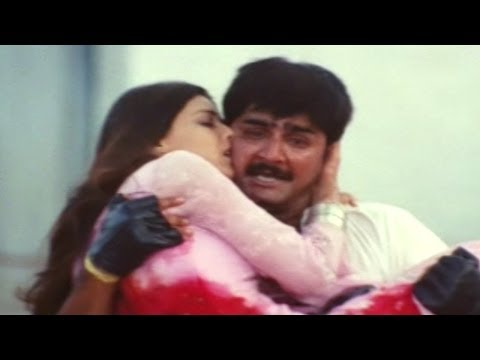 Khadgam Movie || Sonali Bendre Death Sentiment Scene|| Ravi Teja, Srikanth, Sonali Bendre video