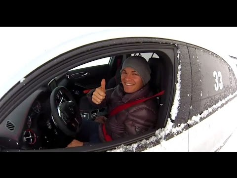 Ice Driving with Nico Rosberg!