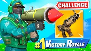 WINNING With Vaulted Weapons *ONLY* Challenge!