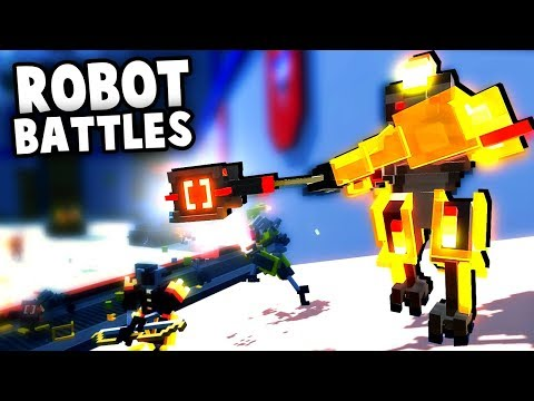 Multiplayer ROBOT Army BATTLES! (Clone Drone in The Danger Zone Last Bot Standing Update)