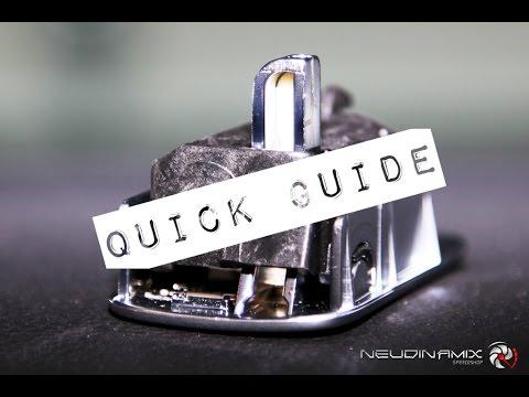 VW Glove Box Aluminium Handle Quick Guide