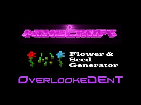 Flower & Seed Generator - Minecraft Xbox 360/PS3 - [Tutorial]