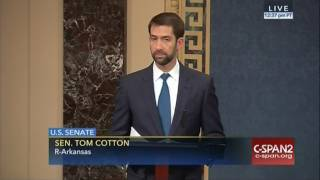 January 11, 2017: Sen. Cotton Honors Late State Senator Stanley Russ