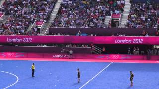 London Olympics 2012, Field Hockey , Final 10 mins of GB v RSA in full HD 1080p