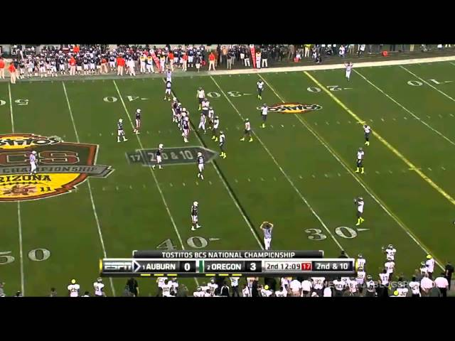 Cliff Harris Interception Ruled Out -BCS Title Game 1-10-2011