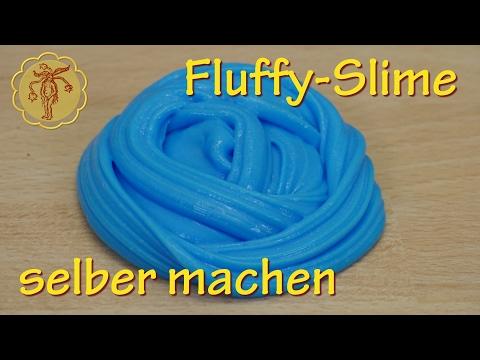 Fluffy-Slime selber machen - ohne Waschmittel und ohne Boraxpulver