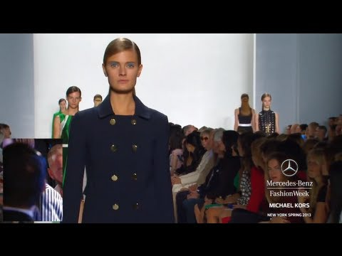 MICHAEL KORS FULL COLLECTION - MERCEDES-BENZ FASHION WEEK SPRING 2013 COLLECTIONS