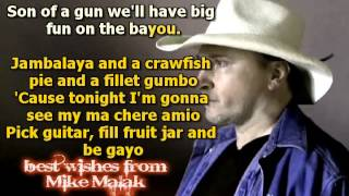 Mike Malak & The Fakers - Jambalaya (Hank Williams sr, cover song,lyrics)