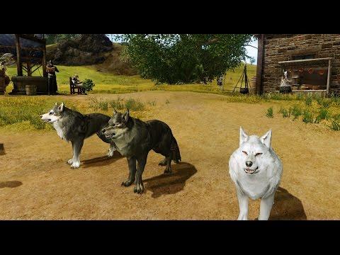 ArcheAge - Wolf Battle Pet [Mascota Lobo de Combate]