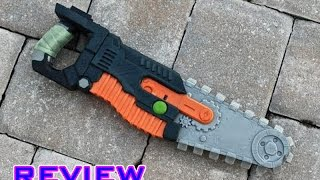 [REVIEW] Nerf Zombie Strike Chainsaw Unboxing and Review!