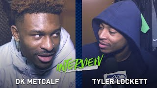Tyler Lockett Interviews DK Metcalf During Locker Clean Out | 2019 Seattle Seahawks