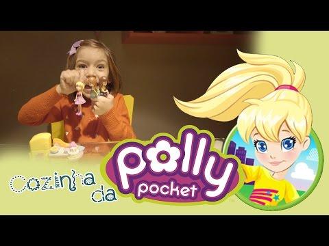 Boneca da Polly Pocket Cozinha com Sarinha (tutorial/review)