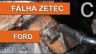 Dr CARRO Falha Motor Ford Zetec - Cabo Terra e o Vazamento Canalha