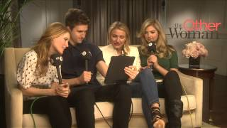 Cameron Diaz, Kate Upton, and Leslie Mann chat with Greg James