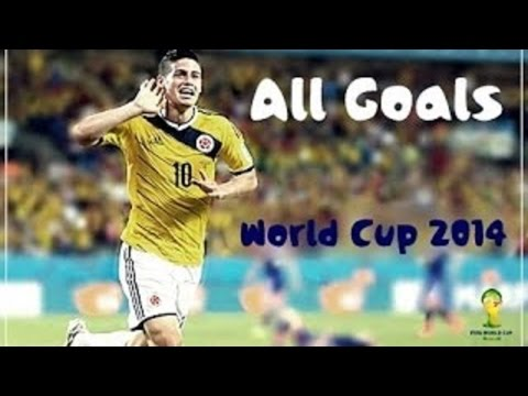 James Rodríguez ● All Goals ● World Cup 2014 - 720p HD