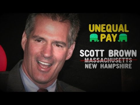 GOP Opponents of Equal Pay: Scott Brown