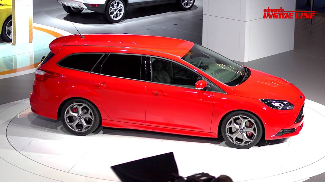 ford focus st and st wagon 2011 frankfurt auto show   youtube