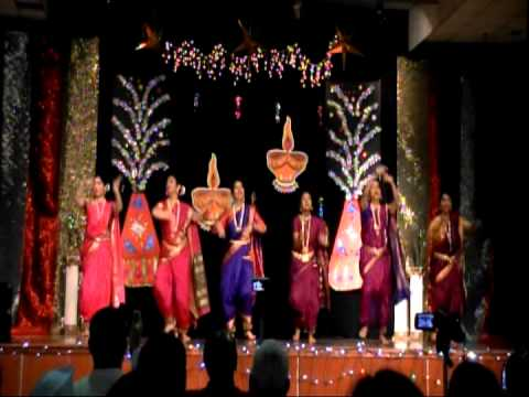 Omm Diwali 2013 Nina's Group Dance-vajle Ki Bara video