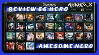 AOV Arena Of Valor - Review 66 Hero And Voice Hero Part 2