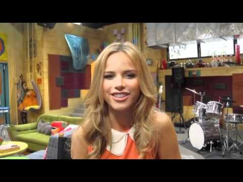 HALSTON SAGE On the Set of HOW TO ROCK!