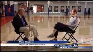 Up Close With SU Basketball Coach Mike Hopkins