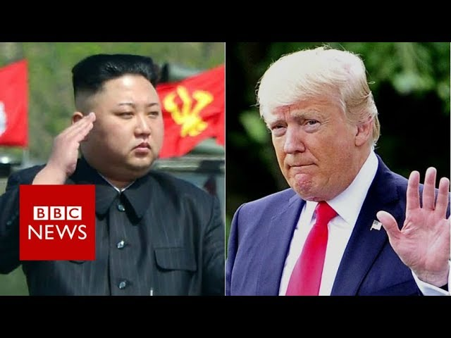Trump: North Korea threats 'will be met with fire and fury'- BBC News