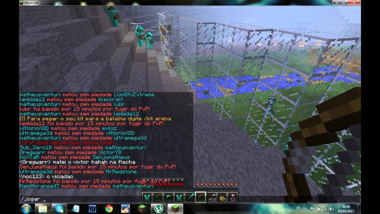 Como baixar e conectar nos servidores de minecraft 1 5 2 youtube