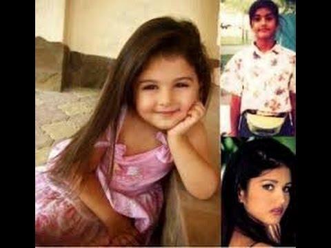 Sunny Leone Childhood Photos   Watch Mastizaade Girl Childhood