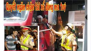Tài xế Container lo sợ Kiểm tra m a t,uý đến Tết Nguyên Đán