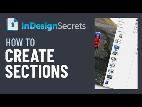 InDesign How-To: Create Sections and Section Markers (Video Tutorial)
