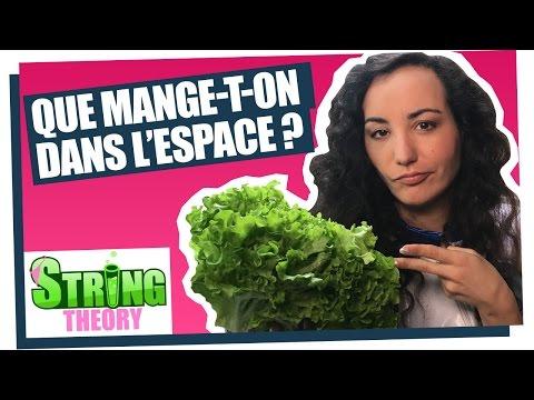 Que mange-t-on dans l'espace ?