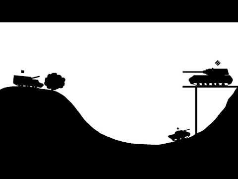 Физика в игре World of Tanks - 2D Мультик!