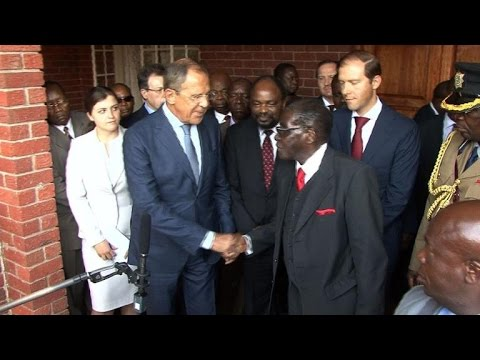 Mugabe backs Russia, calls Western sanctions 'illegal'