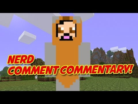 Minecraft Lessons and the Jolly Rancher Story on Nerd Comment Commentary!