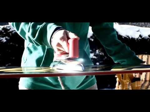 Learn How To Wax Your Snowboard