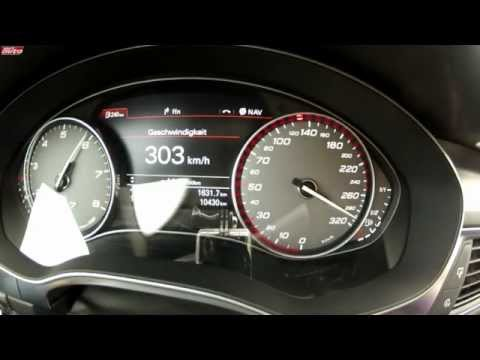 ABT S7 Sportback 540 PS 306 km/h Top Speed Test Drive Tuning Audi sport auto