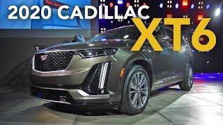 2020 Cadillac XT6 First Look - 2019 Detroit Auto Show