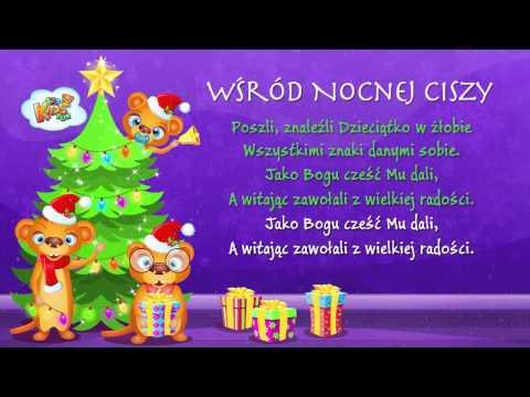Polskie Kolędy - Wśród Nocnej Ciszy + Tekst (karaoke)