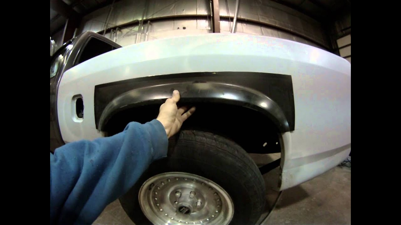 1987 Dodge Dakota Bed Rust Repair 1 Youtube
