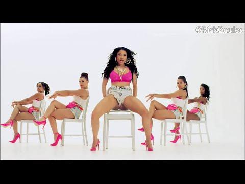 [mobile Version] Nicki Minaj Sexy Booty Tribute #12 (anaconda Recut) video