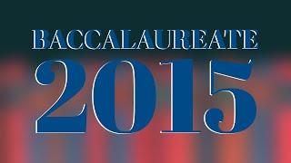 EBI&C Baccalaureate 2015 - Full Service