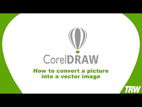 How to convert a picture into a vector image