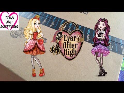 Посылка из Америки с куклами Эвер Афтер Хай Ever After High Dolls