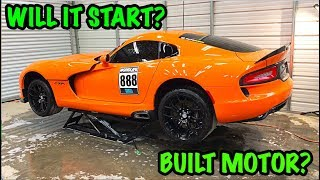 "Rebuilding A Wrecked 2014 Dodge Viper TA ""TIME ATTACK"" PART 2"