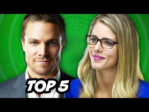 Arrow Season 3 - Olicity Kiss and Top 5 Comic Book Couples