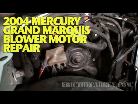 2004 Mercury Grand Marquis Blower Motor Repair -EricTheCarGuy