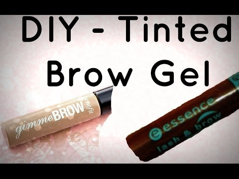 DIY -  Tinted Brow Gel